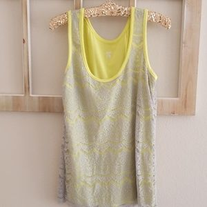 Mossimo lace tank top 🍹